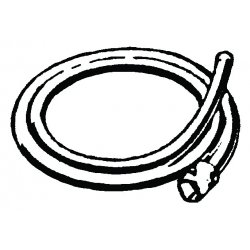 RIDGID - 59415 - Ridgid 10' A-34-10 Rear Guide Hose (For Use With K-1500 Sectional Machine), ( Each )