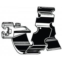 "RIDGID - 61960 - T-16 4"" Sprl Bar Cutter"