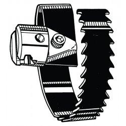 "RIDGID - 63085 - T-23 4"" Spiral Cutter"