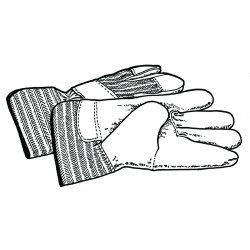 RIDGID - 70032 - Drain Cleaning Gloves, PVC, PR