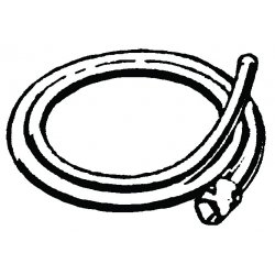 RIDGID - 84325 - Ridgid 10' A-14-10 Rear Guide Hose (For Use With K-50 Sectional Machine)