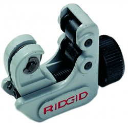 "RIDGID - 86127 - 2-3/4""L Manual Tubing Cutter, Cuts Copper, Aluminum, Brass, Plastic"