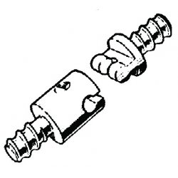 RIDGID - 92880 - Male Cable Coupling 3/4""