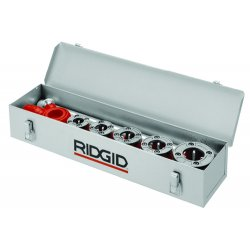 RIDGID - 97375 - Ridgid 24 3/8' X 5' X 10' H Metal Carrying Case (Holds 9 Die Heads And 12-R Threader), ( Each )
