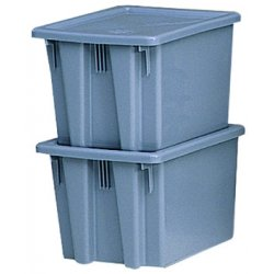 Rubbermaid - 1730-GRAY - Palletote Lid - Grayf/1731 & 17