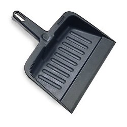 Rubbermaid - 2005-CC - Charcoal Heavy Duty Dustpan, Ea
