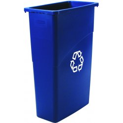 Rubbermaid - 3541-73-BLUE - 60l Slim Jim Recycle