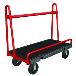 Rubbermaid - 4462-BLA - A-frame Panel Truck 24x36