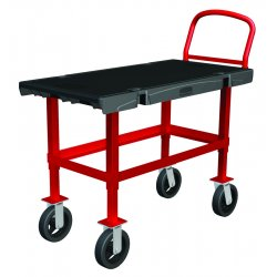 Rubbermaid - 4472-BLA - Work-height Platform Truck 24x36