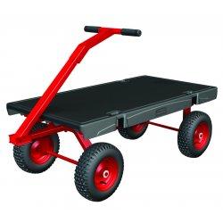 Rubbermaid - 4477-BLA - 5th Wheel Wagon Truck 24x48