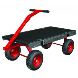 Rubbermaid - 4478-BLA - 5th Wheel Wagon Truck 24x48