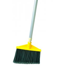 Rubbermaid - 6385-GRAY - Brute Flagged Broom Polyfill Gray, Ea