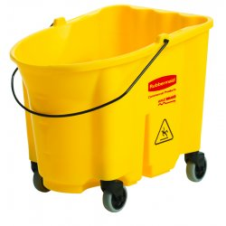 Rubbermaid - 7570-88-Y - 26-35qt Brute Mop Bucket, EA