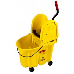 Rubbermaid - 7577-88-YEL - Mopping Bucket And Wringer Combination Pk-yellow