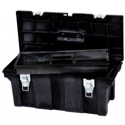 "Rubbermaid - 7802-00-BLA - 26"" Tool Box, Ea"