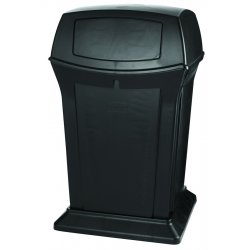 Rubbermaid - RCP 9171-88 BLA - Ranger Fire-Safe Container, Square, Structural Foam, 45 gal, Black