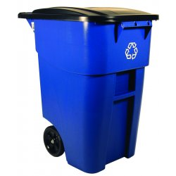 Rubbermaid - 9W27-73-BLUE - Brute Recycling Roll (ca/2)