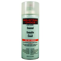 Rust-Oleum - 1610830 - Industrial Choice Spray Paint in Gloss Crystal Clear for Masonry, Metal, Plastic, Wood, 12 oz.