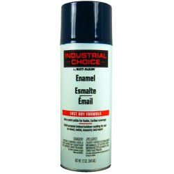 Rust-Oleum - 1622830 - Industrial Choice Spray Paint in Gloss Regal Blue for Masonry, Metal, Plastic, Wood, 12 oz.