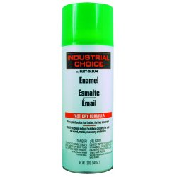 Rust-Oleum - 1632830 - 830 Fluorescent Green Paint 12oz. Fill Wt., Ea