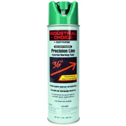Rust-Oleum - 1634838 - Safety Green/APWA Green Precision Line Marking Paint, Solvent Base Type, 17 oz.