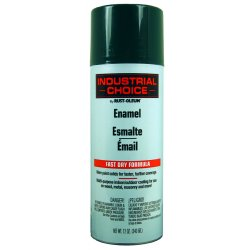 Rust-Oleum - 1638830 - Industrial Choice Spray Paint in Gloss Hunter Green for Masonry, Metal, Plastic, Wood, 12 oz.