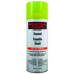 Rust-Oleum - 1642830 - 830 Fluorescent Yellowpaint 12oz. Fill Wt., Ea
