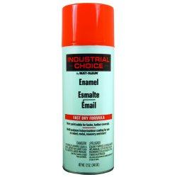 Rust-Oleum - 1654830 - 830 Fluorescent Orange Paint 12oz. Fill Wt., Ea