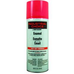 Rust-Oleum - 1659830 - Industrial Choice Spray Paint in Gloss Fluorescent Pink for Masonry, Metal, Plastic, Wood, 12 oz.