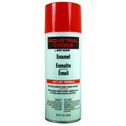 Rust-Oleum - 1660830 - Industrial Choice Spray Paint in Gloss OSHA Safety Red for Masonry, Metal, Plastic, Wood, 12 oz.