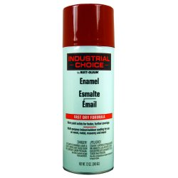 Rust-Oleum - 1666830 - 830 Banner Red Ind. Choice Paint 12oz. Fill Wt., Ea
