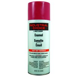 Rust-Oleum - 1670830 - Industrial Choice Spray Paint in Gloss OSHA Safety Purple for Masonry, Metal, Plastic, Wood, 12 oz.