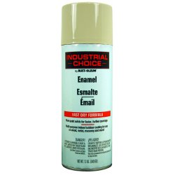 Rust-Oleum - 1672830 - 830 Almond Ind. Choicespray Paint 12 Fl. Oz, Ea