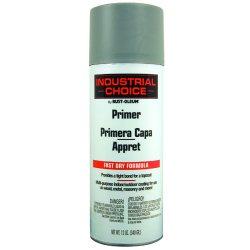 Rust-Oleum - 1680830 - Solvent-Base Spray Primer, Flat Gray, 12 oz.