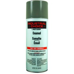 Rust-Oleum - 1688830 - Industrial Choice Spray Paint in Gloss Smoke Gray for Masonry, Metal, Plastic, Wood, 12 oz.
