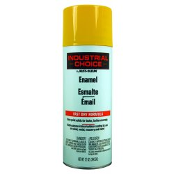 Rust-Oleum - 202212 - Industrial Choice 1600 System Enamel Aerosols (Case of 6)