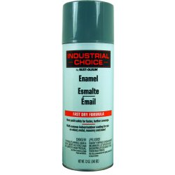 Rust-Oleum - 202214 - Industrial Choice Spray Paint in Gloss Machinery Gray for Masonry, Metal, Plastic, Wood, 12 oz.