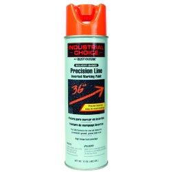 Rust-Oleum - 203027 - Solvent-Base Precision Line Marking Paint, Fluorescent Orange, 17 oz.