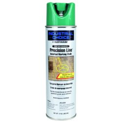 Rust-Oleum - 205238 - Green Inverted Marking Chalk, Water Base Type, 17 oz.