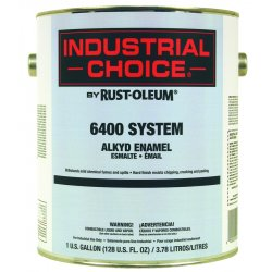 Rust-Oleum - 206303 - Ind Choice Safety Yellowalkyd Enamel, Gal