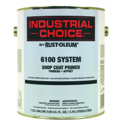 Rust-Oleum - 206331 - Gray Industrial Choice Shopcoat Primer 1 Gal, Gal