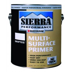 Rust-Oleum - 208028 - Interior/Exterior Primer with 180 to 545 sq. ft./gal. Coverage, Flat White, 1 gal.