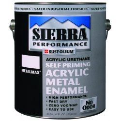 Rust-Oleum - 208039 - Black Performance Coating, Semi-Gloss Finish, 180 to 545 sq. ft./gal. Coverage, Size: 1 gal.