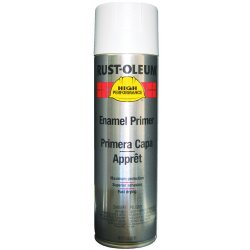 Rust-Oleum - 209566 - Solvent-Base Rust Preventative Spray Primer, Flat White, 15 oz.