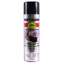 Rust-Oleum - 209590 - High Performance Rust Preventative Spray Paint in Hammered Metal Black for Metal, Steel, 15 oz.