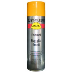 Rust-Oleum - 209715 - High Performance Rust Preventative Spray Paint in Gloss Caterpillar Yellow for Metal, Steel, 15 oz.