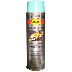Rust-Oleum - 2326-838 - Paint Striper Aerosol Blue Rust-oleum Corp. 18 Oz 250-350 Linear Feet Coverage, Ea