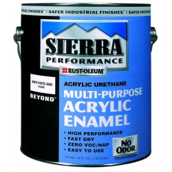 Rust-Oleum - 238749 - Voc Satin White Beyond Multi-purpose Acrylic