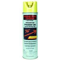 Rust-Oleum - 239007 - Solvent-Base Precision Line Marking Paint, Silver, 17 oz.