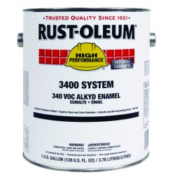 Rust-Oleum - 3444402 - High Performance 3400 System Alkyd Enamels (Case of 2)